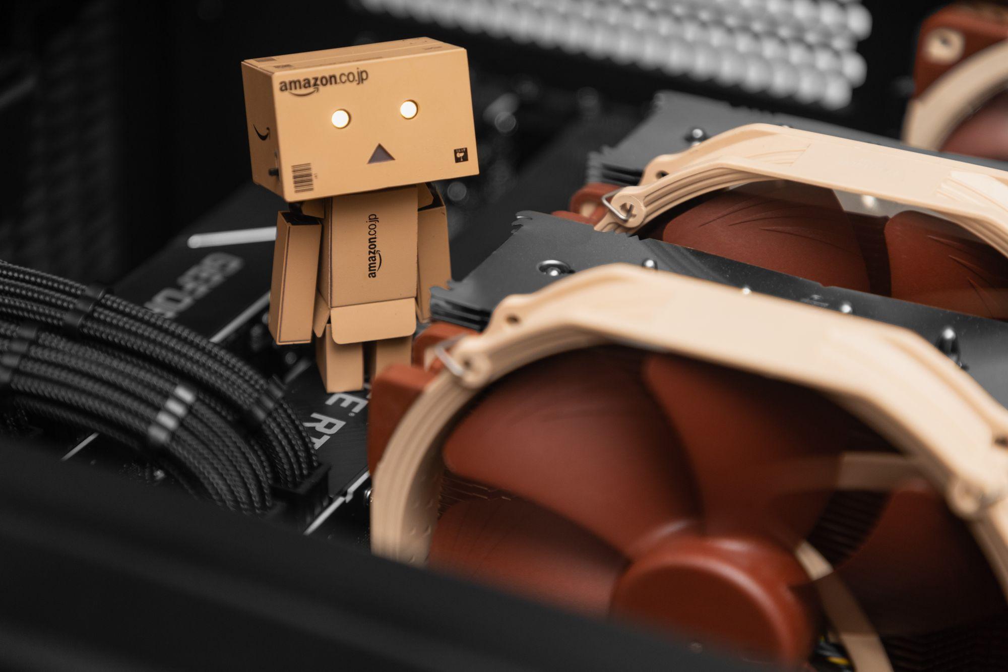 Hot Chocolate - HAF XB 3950X Dual 2080 Ti F@H Build